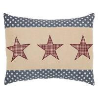 Independence Star FilledThrow Pillow 14x18