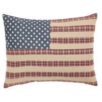 Independence Flag FilledThrow Pillow 14x18