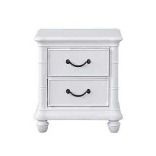 Isle of Palms Antique White 2-Drawer Nightstand by Panama Jack