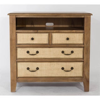 Linen 3-Drawer Media Chest by Panama Jack
