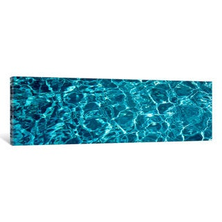 iCanvas 'Swimming Pool Ripples Sacramento CA USA' by Panoramic Images Canvas Print
