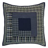 Columbus Quilted FilledThrow Pillow 16x16