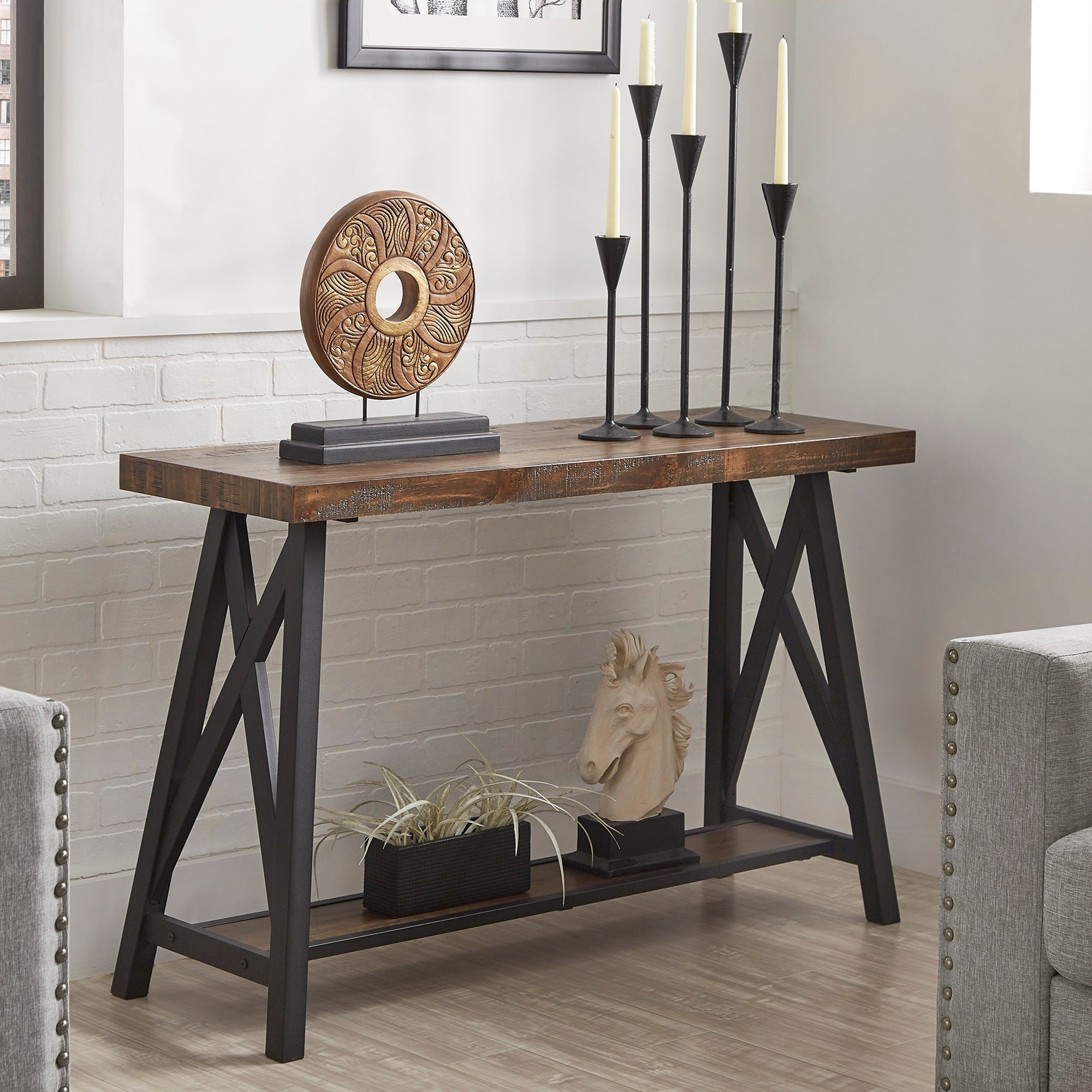 Bryson-Rustic-X-Base-Sofa-Entryway-Table-by-