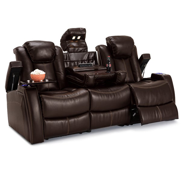 Lane Omega Leather Gel Home Theater Seating Power Recline  : Lane Omega Leather Gel Home Theater Seating Power Recline Sofa w Fold Down Table Brown adf543f1 3711 4686 bd30 9f50ff9db47a600 from www.overstock.com size 600 x 600 jpeg 37kB