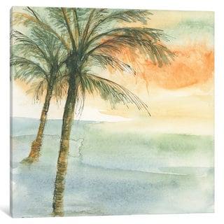 iCanvas 'Island Sunset I' by Chris Paschke Canvas Print