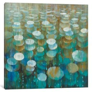 iCanvas 'Rain Drops' by Danhui Nai Canvas Print