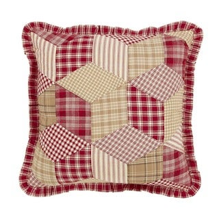 Breckenridge Quilted FilledThrow Pillow 16x16