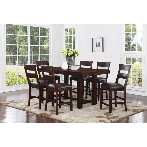 Alden 7 Piece Counter Height Dining Set