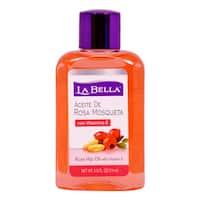 La Bella Rosa Mosqueta 2.5-ounce Rose Hip Oil with Vitamin E
