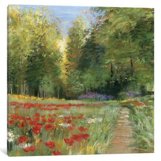 iCanvas 'Field of Flowers' by Carol Rowan Canvas Print