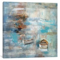 iCanvas 'Calm Sea' by Silvia Vassileva Canvas Print