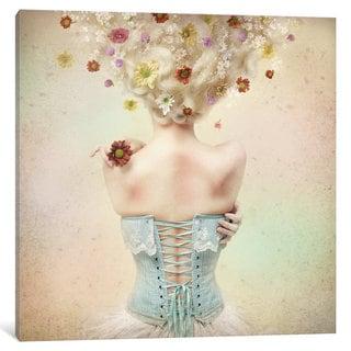 iCanvas 'Girl Of The Flower Garden' by Kiyo Murakami Canvas Print