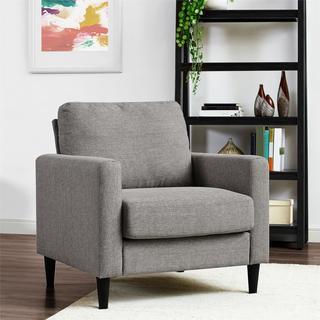 Dorel Living Kaci Grey Chair