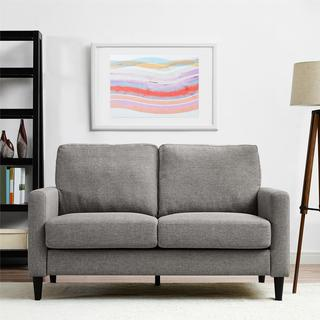 Dorel Living Kaci Grey Loveseat