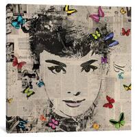 iCanvas 'Audrey I' by VeeBee Canvas Print