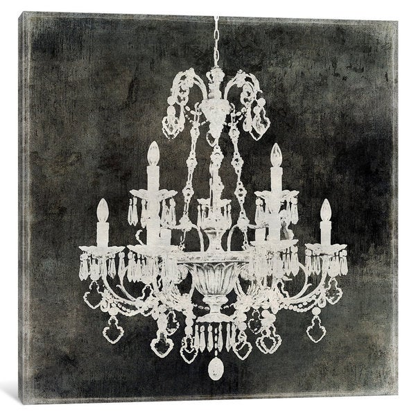 Icanvas Chandelier Ii By Oliver Jeffries Canvas Print On Free Shipping Orders Over 45 15437426