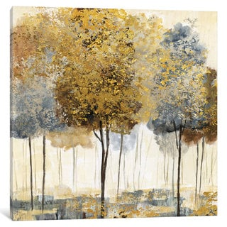 iCanvas 'Metallic Forest I' by Nan Canvas Print