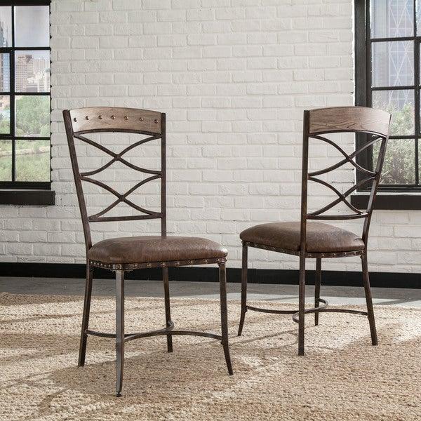 Seamans Furniture Store: Shop Hillsdale Furniture Emmons Washed Grey Wood, Metal