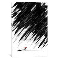 iCanvas 'Geometric Storm' by Nicebleed Canvas Print