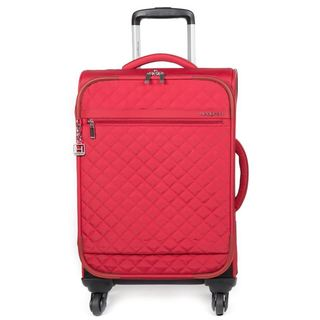 Hedgren Gianna 20-inch Red Carry-on Upright Spinner Suitcase