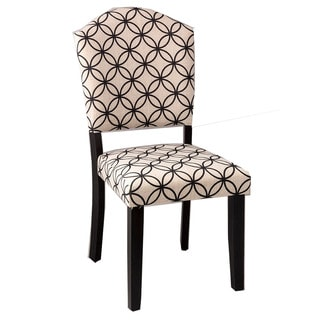 Hillsdale Furniture Lorient Parsons Distressed Black Dining Chairs (Set of 2)