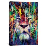 iCanvas Lion by Nicebleed Canvas Print