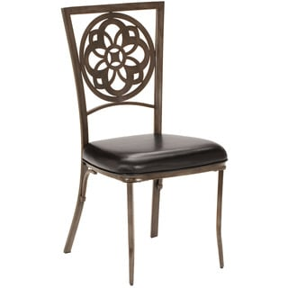 Hillsdale Furniture Marsala Grey and Brown Rub Dining Chairs (Set of 2)