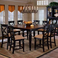 Hillsdale Furniture Northern Heights Black Honey and Cherry Finish Counter Height Dining Table