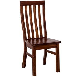 Hillsdale Furniture Outback Dining Chair Set of 2 in Distressed Chestnut Finish