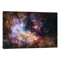 iCanvas 'WR 20a And Surrounding Stars, Westerlund 2' by NASA Canvas Print