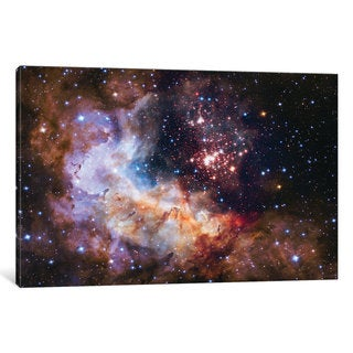 iCanvas 'WR 20a And Surrounding Stars, Westerlund 2' by NASA Canvas Print (More options available)