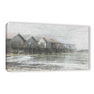 Scott Medwetz's 'Ammersee Lake Germany' Gallery Wrapped Canvas
