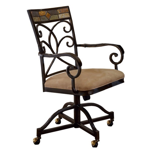 Shop Hillsdale Furniture Pompeii Caster Dining Chairs Set