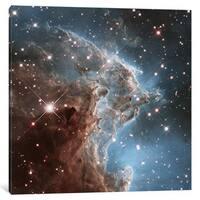 iCanvas NGC 2174 (Monkey Head Nebula) (Hubble Space Telescope 24th Anniversary Image) by NASA Canvas Print