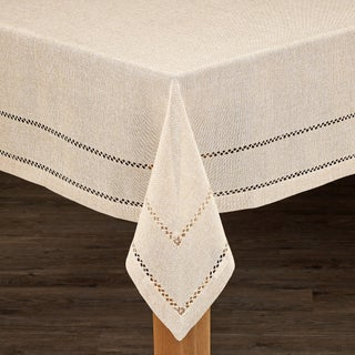 Hemstitch Tablecloth Collection (More options available)