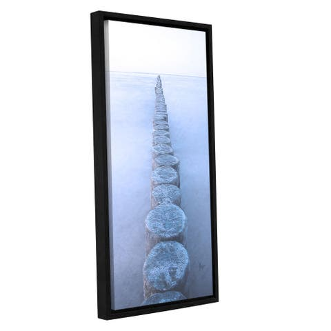 Scott Medwetz's 'Baltic Sea' Gallery Wrapped Floater-framed Canvas
