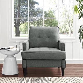 Dorel Living Marley Grey Chair