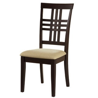 Hillsdale Furniture Tiburon Espresso Finish Side Dining Chairs (Set of 2)