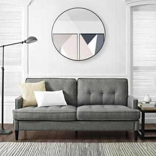 Dorel Living Marley Grey Sofa