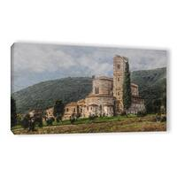 Scott Medwetz's 'Castle in Tuscany' Gallery Wrapped Canvas
