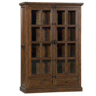 Hillsdale Furniture Tuscan Retreat Double Door Cabinet in Oxford Finish