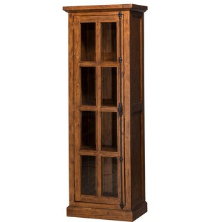 Hillsdale Furniture Tuscan Retreat Pine-finish Wood Single-door Cabinet