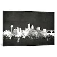 iCanvas 'Blackboard Skyline Series: Knoxville, Tennessee, USA' by Michael Tompsett Canvas Print