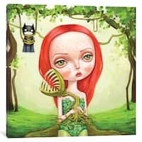 iCanvas 'Poison Ivy' by Melanie Schultz Canvas Print