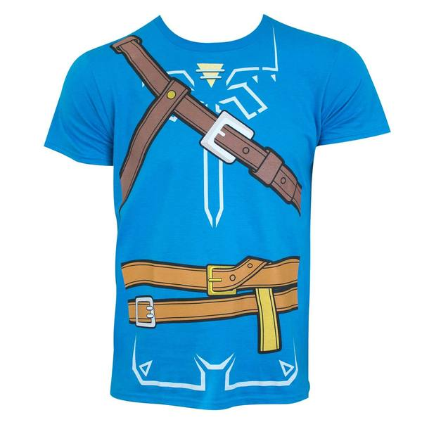 The Legend Of Zelda Breath Of The Wild T-Shirt Turquoise NYX6jB