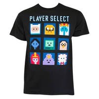 Adventure Time Player Select Tee Shirt