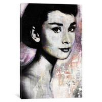 iCanvas Audrey by Andre Monet Canvas Print