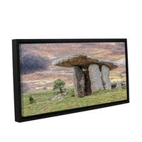 Scott Medwetz's 'The Burren of Ireland' Gallery Wrapped Floater-framed Canvas