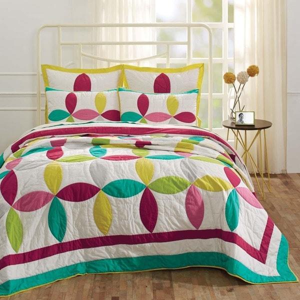 Everly Cotton Quilt Set