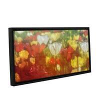 Scott Medwetz's 'Tulips for Ann' Gallery Wrapped Floater-framed Canvas